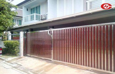 ประตูสแตนเลส จินเฮงการช่าง