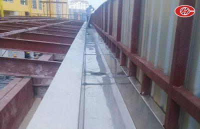 รางน้ำฝน บริการออกแบบรางน้ำฝน ติดตั้งรางน้ำฝน